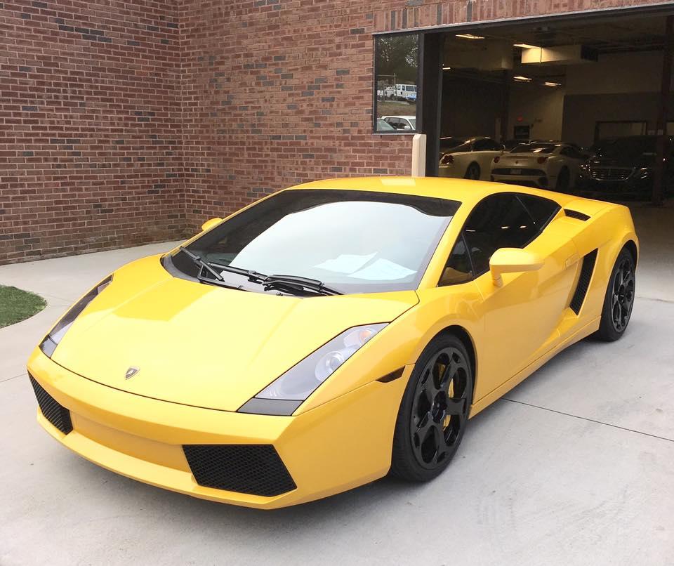 Lamborghini: Super Clean Yellow Lamborghini Gallardo